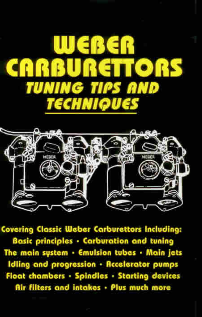 Tune-Build-Weber-Carburettor-Carbs-Carburetor-New-Book-Emulsion-Tubes-Idling