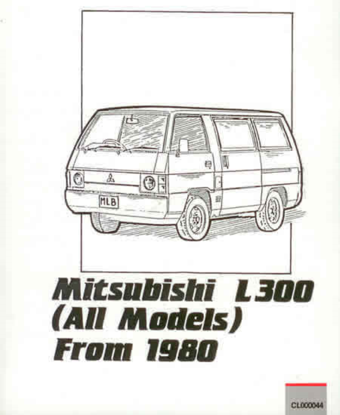 mitsubishi l300 workshop manual pdf