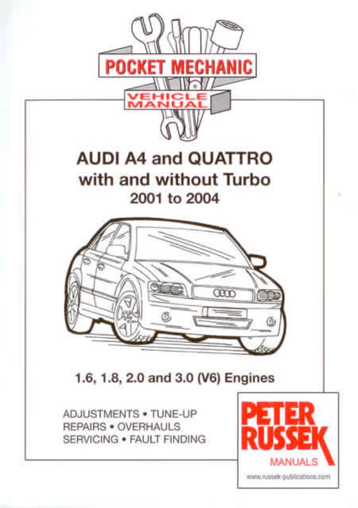 Audi A4 Quattro Turbo 2001