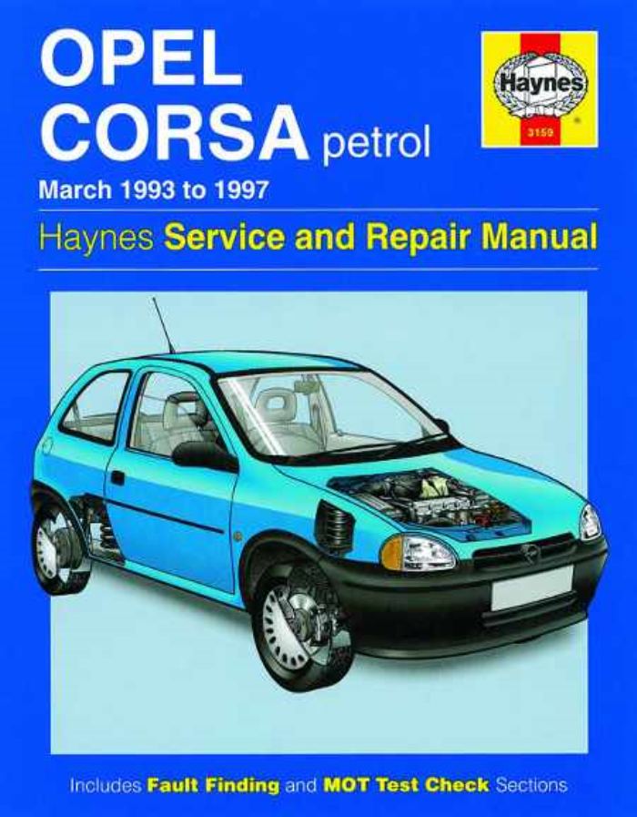 haynes workshop manual vauxhall corsa opel petrol 1993 1997 new rh ebay co uk Vauxhall Corsa Interior 2016 Vauxhall Corsa