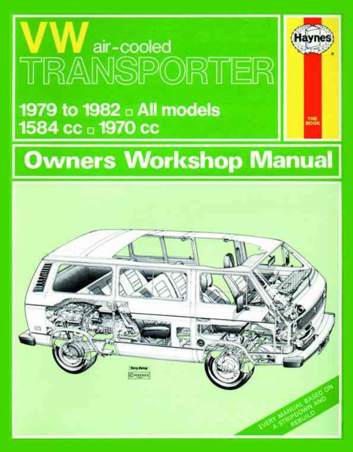 VW Transporter Wedge T3 T2.5 1982-1990 New Haynes Workshop Manual Service Repair