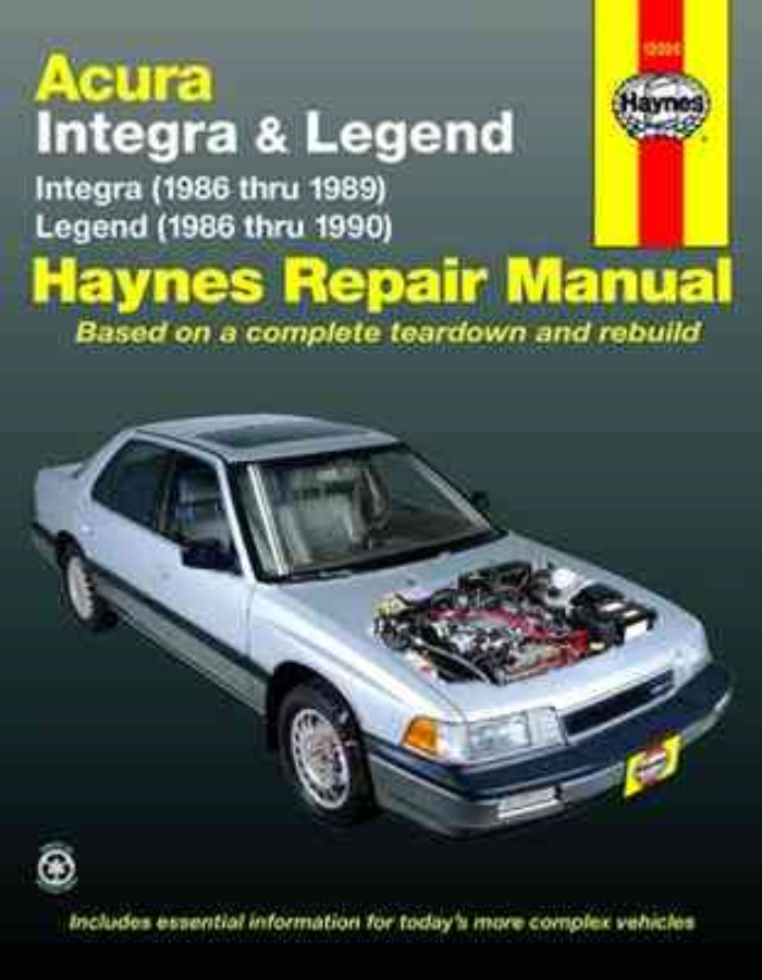 1990-1993 acura integra body repair shop manual original.