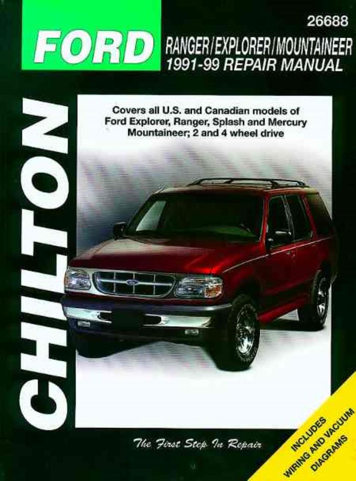 chilton 1991 1999 ford explorer ranger mercury mountaineer repair rh ebay com 1999 ford explorer xlt manual 1999 ford explorer xlt manual