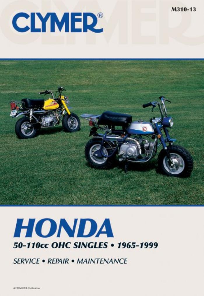 Clymer Workshop Manual Honda C Cl Ct S Sl St 50 70 90 1965