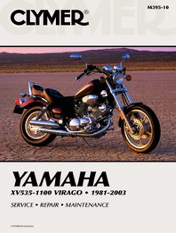 Details about Clymer Workshop Manual Yamaha Virago 535 to 1100cc 1981-2003 on