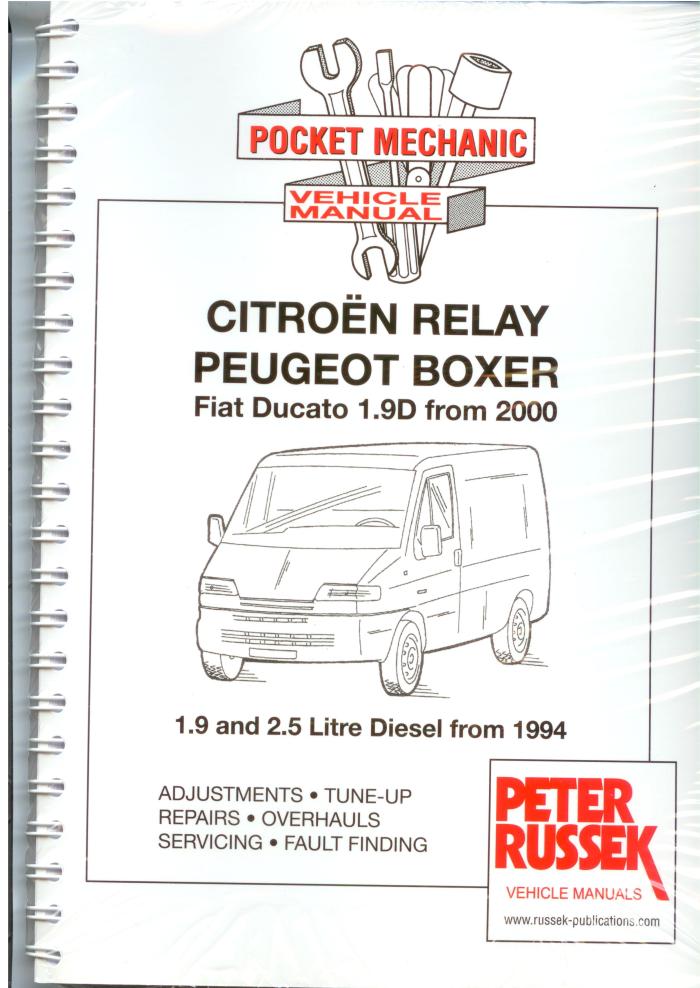 Citroen Relay Peugeot Boxer Fiat Ducato Diesel1994  A4