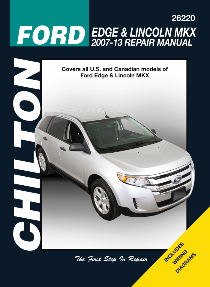 details about chilton workshop manual ford edge & lincoln mkx 2007-2013 new  service repair