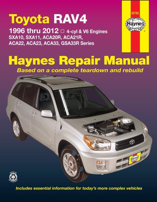 2012 rav4 v6 wiring diagram toyota rav4 1996 2012 4 cylinder   v6 engines haynes workshop  toyota rav4 1996 2012 4 cylinder   v6