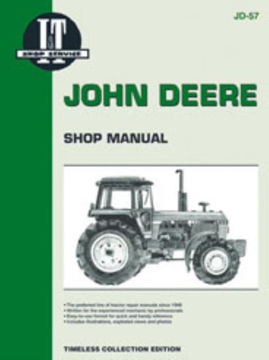 I U0026t Workshop Manual John Deere 4050 4250 4450 4650 4850