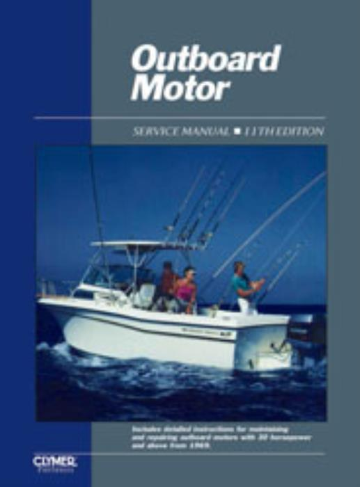 Clymer-ProSeries-Outboard-Motor-Engine-Service-Manual-1969-1989-Vol-2