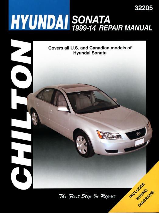 Haynes Workshop Manual Hyundai Sonata 1999-2014 Service /& Repair