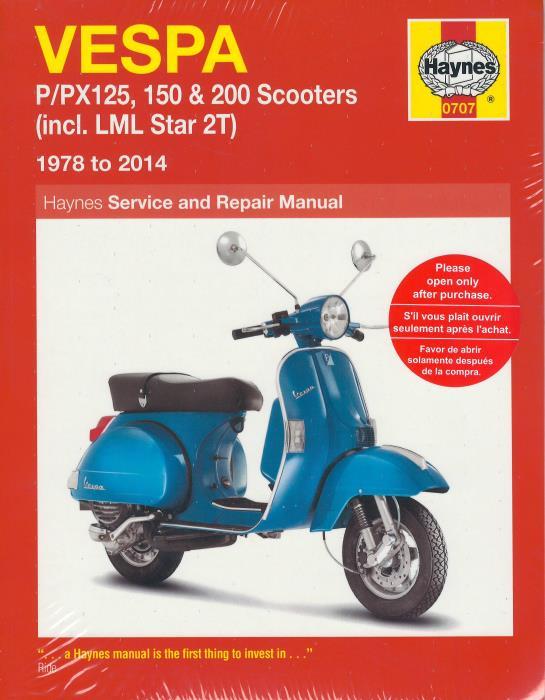 vespa et4 150 owners manual