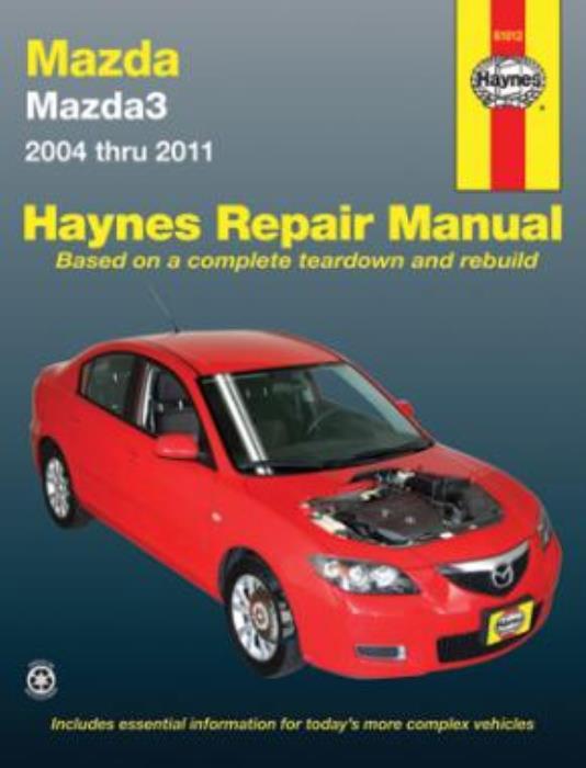 wiring diagram mazda 3 2004 haynes workshop manual mazda 3 mazda3 2004 2011 service repair ebay  haynes workshop manual mazda 3 mazda3