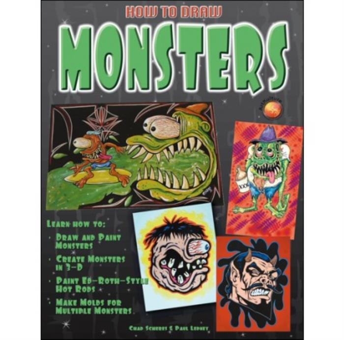 Book-Learn-How-to-Draw-Monsters-Create-3D-Monsters-Make-Moulds-Paint-Ed-Roth