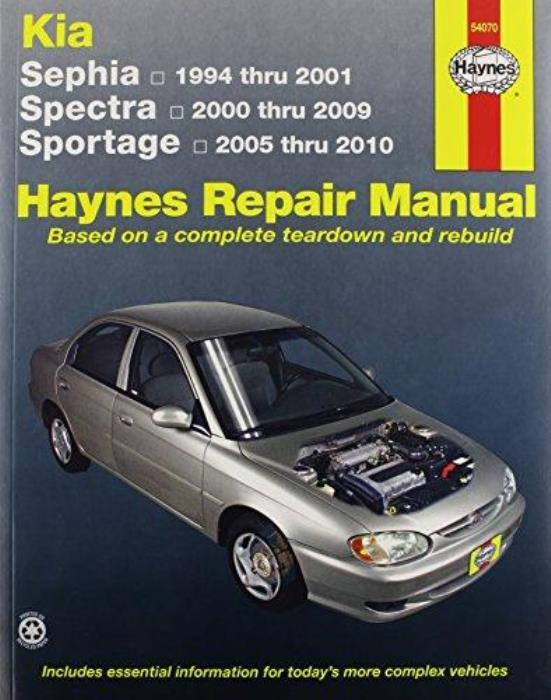 haynes workshop manual kia sephia kia spectra kia sportage repair rh picclick co uk 2009 Toyota Camry Manual 2009 Kia Spectra Problems