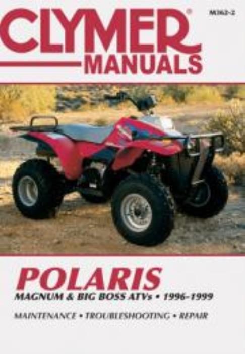 Big Boss 500 ATV Repair Manual 1996-1999 Polaris Magnum 425 ...
