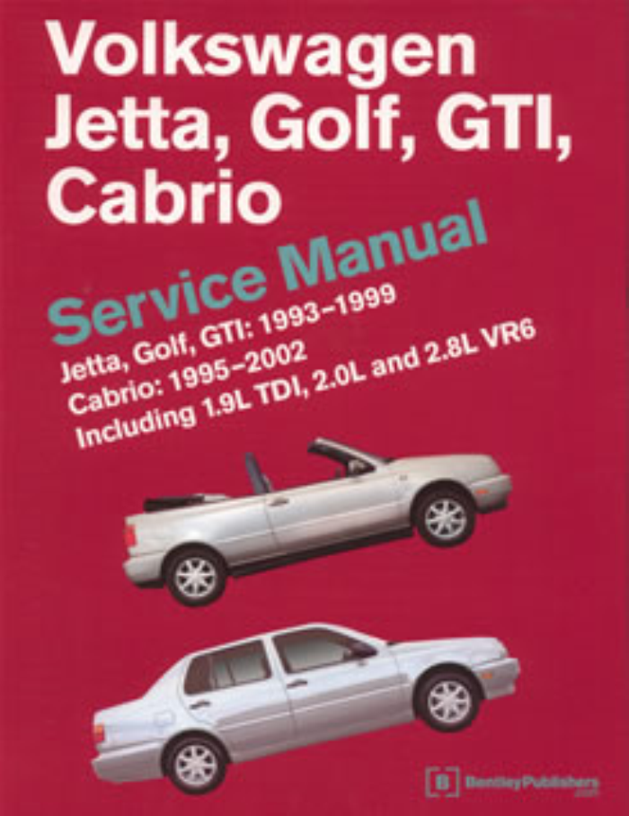 vw golf mk3 jetta gti cabrio 1993 2002 bentley workshop. Black Bedroom Furniture Sets. Home Design Ideas