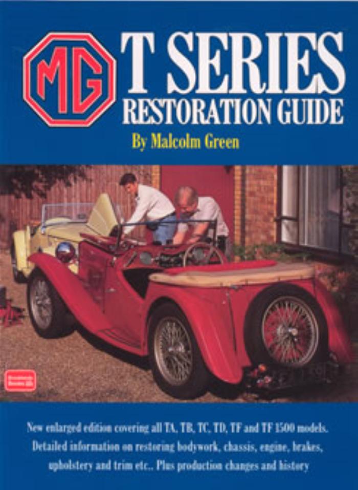 Restore mg t series guide ta tb tc td tf tf1500 workshop for Table th td tf