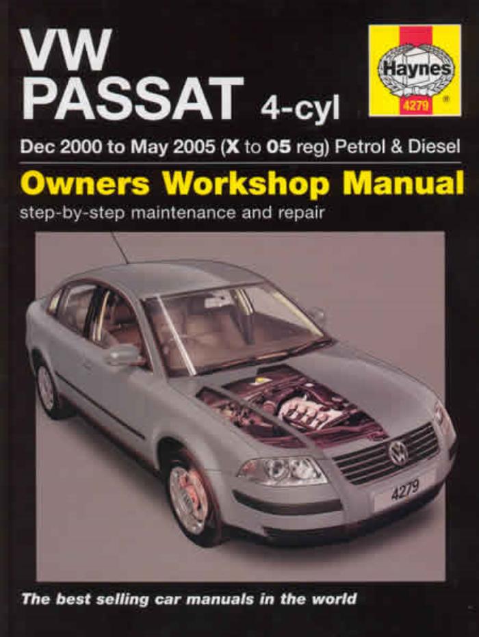 Haynes Workshop Manual VW Passat Diesel 2011-2014 Service /& Repair