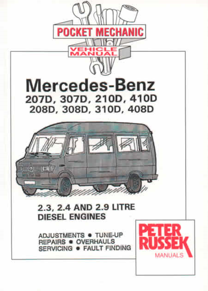 mercedes pre sprinter 208d all variants workshop manual service rh ebay ie mercedes sprinter 208d manual Mercedes CLK 208